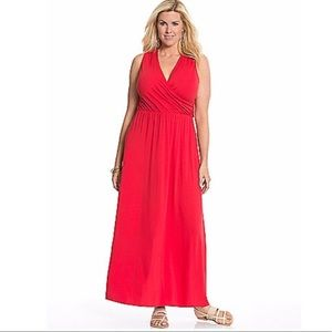 Lane Bryant Sleeveless Maxi Dress